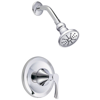 Danze D513522T Antioch Shower Trim Package with Single Function Shower Head - Chrome