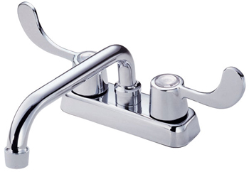 Danze D100353 Melrose Two Wristblade Handle Laundry Faucet - Chrome