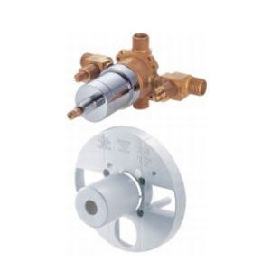 Danze D112000BT Single Control Pressure Balance Mixing Valve with Screwdriver Stops
