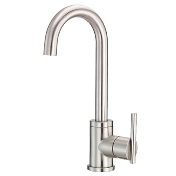 Danze D151558SS Parma Single Handle Bar Faucet - Stainless Steel