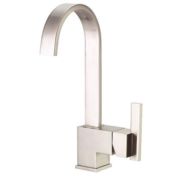 Danze D151644SS Sirius Single Handle Bar Faucet - Stainless Steel
