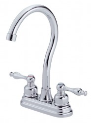 Danze D153055 Sheridan Two Handle Bar Faucet - Chrome