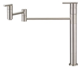 Danze D206058SS Parma Deck Mount Pot Filler - Stainless Steel