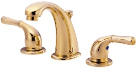 Danze D300471PBV Plymouth Collection Widespread Lavatory Faucet - Polished Brass