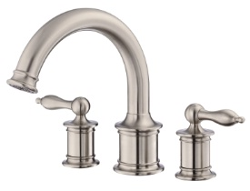 Danze D300910BNT Prince Trim Only for Two Handle Roman Tub Faucet - Brushed Nickel