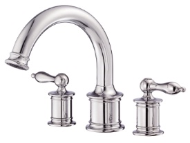 Danze D300910T Prince Trim Only for Two Handle Roman Tub Faucet - Chrome