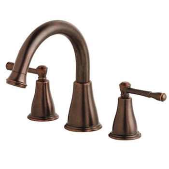 Danze D300915BRT Eastham Two Handle Roman Tub Faucet Trim - Tumbled Bronze