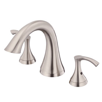 Danze D300922BNT Antioch Trim Only for Two Handle Roman Tub Faucet - Brushed Nickel