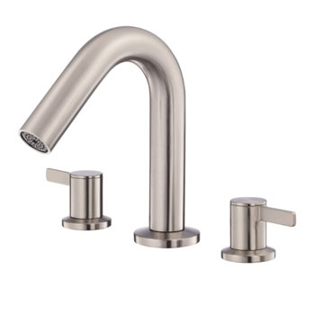 Danze D300930BNT Amalfi Two Handle Trim Kit Roman Tub Filler - Brushed Nickel