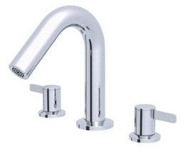 Danze D300930T Amalfi Two Handle Trim Kit Roman Tub Filler - Chrome