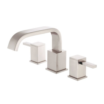 Danze D300933BNT Reef Two Handle Roman Tub Faucet Trim Only - Brushed Nickel
