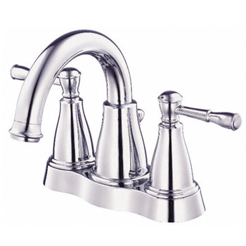 Danze D301015 Eastham Two Handle Centerset Lavatory Faucet with 50/50 Pop-Up Drain - Chrome