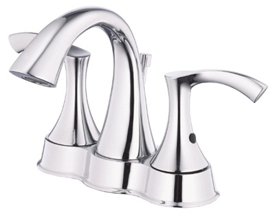 Danze D301022 Antioch Two Handle Centerset Lavatory Faucet - Chrome