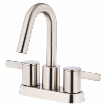 Danze D301030BN Amalfi Two Handle Centerset Lavatory Faucet - Brushed Nickel