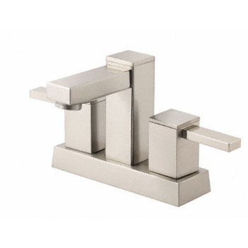 Danze D301033BN Reef Two Handle Centerset Lavatory Faucet - Brushed Nickel