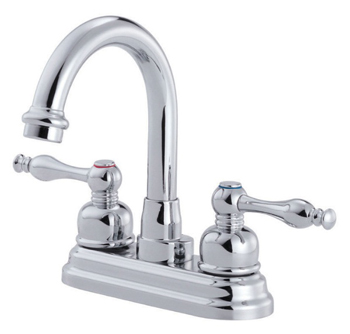 Danze D301255 Sheridan Two Handle Centerset Lavatory Faucet - Chrome