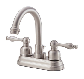 Danze D301255BN Sheridan Two Handle Centerset Lavatory Faucet - Brushed Nickel