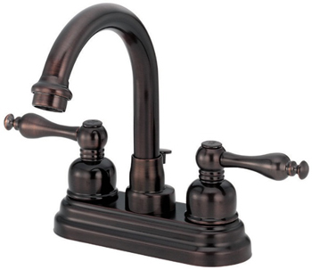 Danze D301255RB Sheridan Two Handle Centerset Lavatory Faucet - Oil Rubbed Bronze