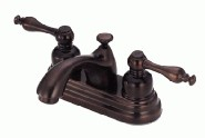 Danze D302155RB Sheridan Collection Two Handle Centerset Lavatory Faucet - Oil Rubbed Bronze