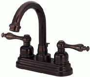Danze D302255RB Sheridan Collection Two Handle Centerset Lavatory Faucet - Oil Rubbed Bronze