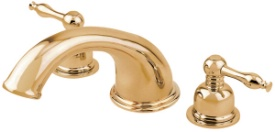 Danze D302555PBVT Sheridan Roman Tub Trim Kit - Polished Brass