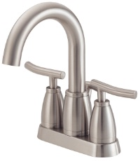 Danze D303254BN Sonora Two Handle Centerset Lavatory Faucet - Brushed Nickel