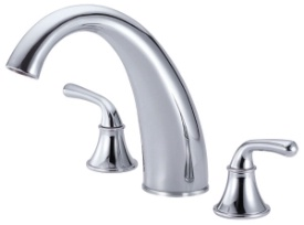 Danze D303656T Bannockburn Roman Tub Filler Trim Kit - Chrome