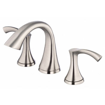 Danze D304022BN Antioch Two Handle Widespread Lavatory Faucet - Brushed Nickel