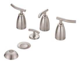 Danze D326454BN Sonora Bidet Faucet - Brushed Nickel