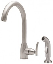 Danze D404854SS Sonora Collection Single Handle Kitchen Faucet - Stainless Steel