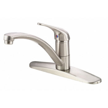 Danze D406112SS Melrose Single Handle Kitchen Faucet - Stainless Steel