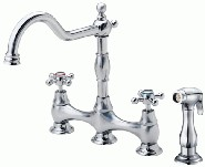 Danze D414067 Opulence Collection Two Handle Kitchen Faucet - Chrome