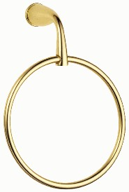 Danze D441112PB Plymouth Bath Accessories Towel Ring - Polished Brass
