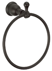 Danze D442111BS Opulence Towel Ring - Satin Black