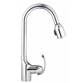 Danze D454520 Anu Single Handle Pull-Down Kitchen Faucet - Chrome