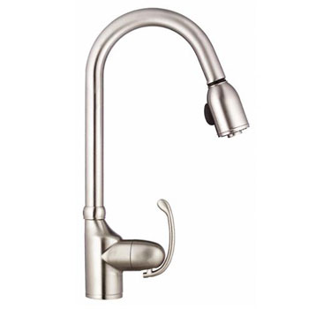 Danze D454520SS Anu Single Handle Pull-Down Kitchen Faucet - Stainless Steel