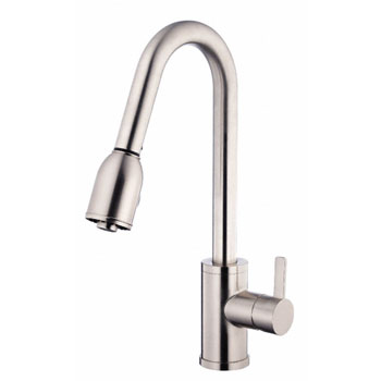 Danze D454530SS Amalfi Single Handle Pull-Down Kitchen Faucet - Stainless Steel