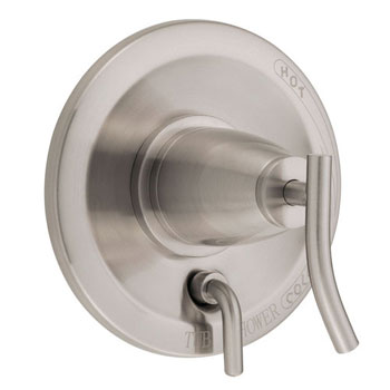 Danze D500454BNT Sonora Single Handle Pressure Balanced Valve Trim with Diverter - Brushed Nickel