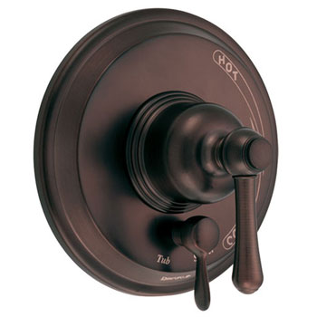Danze D500457RBT Opulence Trim Kit For Valve Only with Diverter - Oil Rubbed Bronze