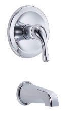 Danze D500511T Melrose 1-Handle Shower Trim Kit - Chrome