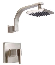 Danze D500544BNT Sirius Shower Trim Kit with 6