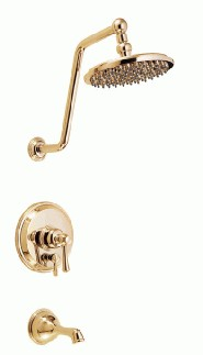 Danze D502057PBVT Opulence Tub and Shower Trim Kit w/ 8 - Polished Brass