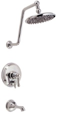 Danze D502057PNVT Opulence Tub and Shower Trim Kit w/ 8 - Polished Nickel