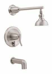 Danze D504054BNT Sonora Tub and Shower Trim Kit w/ 4