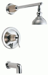 Danze D504054CSN Sonora Tub and Shower w/ 4