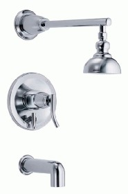 Danze D504054T Sonora Tub and Shower Trim Kit w/ 4