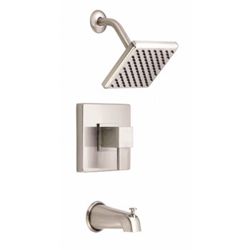 Danze D510033BNT Reef Single Handle Pressure Balance Tub and Shower Trim - Brushed Nickel