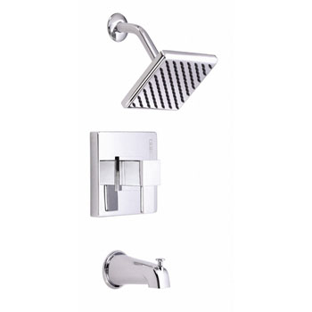 Danze D510033T Reef Single Handle Pressure Balance Tub and Shower Trim - Chrome