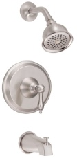 Danze D510040BNT Fairmont Single Handle Tub and Shower Trim Kit - Brushed Nickel