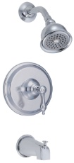 Danze D510040T Fairmont Single Handle Tub and Shower Trim Kit - Chrome
